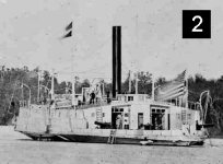 Civil War Ferry-gunboat Information