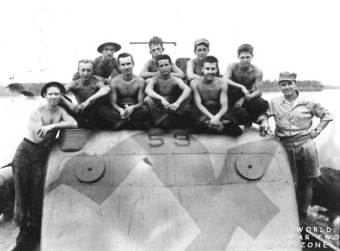 PT-59 (early) Boat Crew